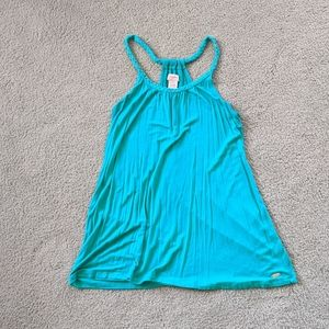 Candie's Turquoise Tank (L)